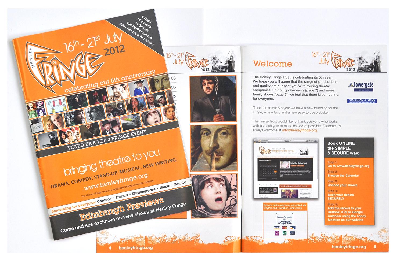 Henley Fringe brochure